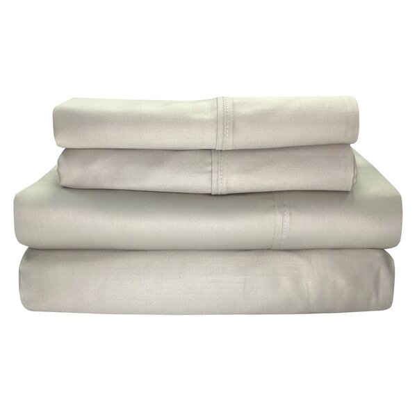 Millsboro 300 Thread Count 100% Cotton Sheet Set by Alcott Hill